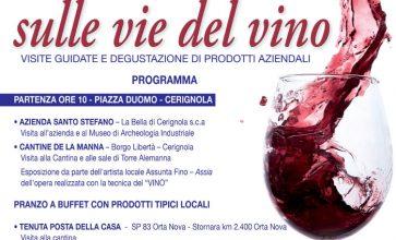 Sulle vie del vino: cantine aperte